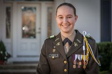 The first woman, Alyssa Marie Michalke , has been appointed to lead Texas A&M's legendary Corps of Cadets.