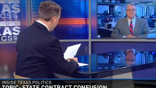 "Texas Tribune Executive Editor Ross Ramsey on WFAA's ""Inside Texas Politics"" on March 15, 2015."