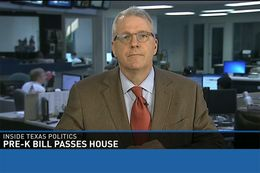 "Tribune Executive Editor Ross Ramsey on WFAA's ""Inside Texas Politics"" on April 12, 2015."
