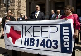 Texas Association of Business CEO Bill Hammond, speaks in favor of HB 1403 which was passed in 2001 and grants all Texans in-state college tuition regardless of immigration status on April 13th, 2015