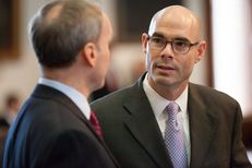 State Rep. Dennis Bonnen, R-Angleton, on the House floor, May 13, 2015.
