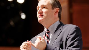 U.S. Senator Ted Cruz, R-Texas, speaks at Citizens United Freedom Summit in South Carolina on May 9 2015.
