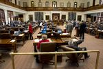 View of the Texas House floor during budget debate on HB1 May 29, 2015.