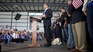 "It's time to create real jobs; to raise wages; to create opportunity for all; to give every citizen a stake in this country; to restore hope — real hope to forgotten Americans,"" Perry said Thursday."