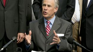 Gov. Greg Abbott after signing Senate Bill 2065, the Pastor Protection Act, into law.