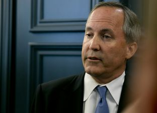 TX Attorney General Ken Paxton, speaks to media following remarks at event hosted by the Texas Public Policy Foundation regarding impact of the EPA's Clean Power Plan on June 22, 2015