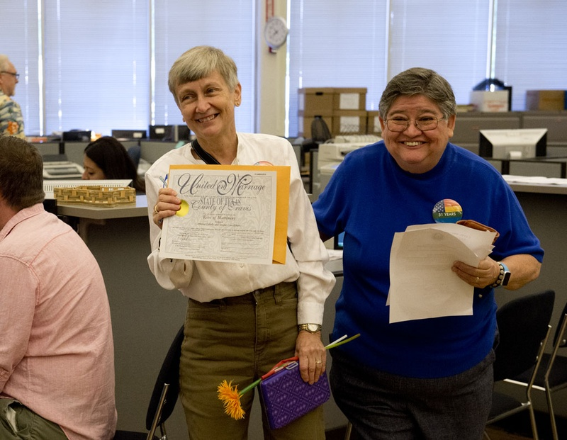 texas counties 39 responses to marriage ruling vary the