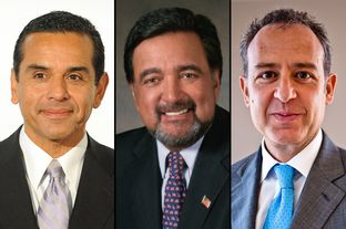 Los Angeles Mayor Antonio Villaraigosa, former New Mexico Gov. Bill Richardson and Mexican Ambassador to the U.S. Arturo Sarukhan