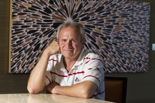 Exonerated after spending 25 years in prison for a crime he didn't commit, Michael Morton poses for a photograph in Austin on March 26, 2012.  Morton isn't interested in revenge, only accountability for the prosecutor who wrongly convicted him back in 1987.