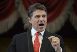 In his Jan. 29, 2103, State of the State speech, Gov. Rick Perry avoided hot-topic issues like abortion, immigration and gun control and focused instead on infrastructure, budget reform and education.