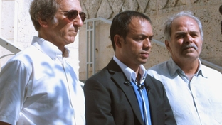 Rais Bhuiyan, the sole survivor of a 2001 shooting, speaks out at a press conference in Austin on July 14, 2011 about his lawsuit against Gov. Perry for not upholding his victim's rights .