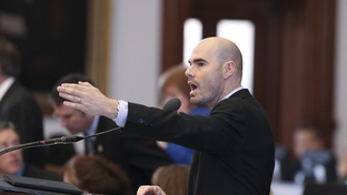 State Rep. Dennis Bonnen, R-Angleton, debates an amendment to an education bill on April 6, 2011.