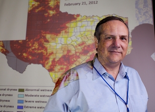 John Nielsen-Gammon, Texas' state climatologist and professor at Texas A&M University, spoke recently at a climate conference in Austin.