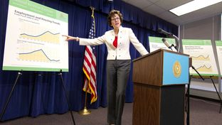 Texas Comptroller Susan Combs, citing a robust economy,  releases the Biennial Revenue Estimate showing that the state is projected to have over $100 billion available for spending in the next biennium.