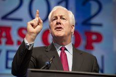 U.S. Sen John Cornyn, R-Texas, at the state Republican convention on June 8, 2012.