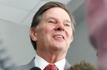 Tom DeLay, shown after his trial in 2011. DeLay, who was convicted of conspiracy and money-laundering, was found innocent of all charges by the Texas Court of Criminal Appeals in 2014.