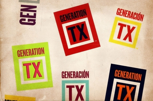 """Generation TX"" stickers"