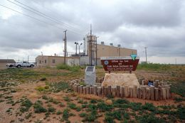 AMARILLO, Texas (5/11/12) -- Entrance to plants about 15 miles northwest of Amarillo.