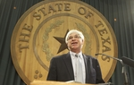 State Rep. Scott Hochberg, D-Houston, discusses the details of two school finance measures on March 8, 2011.