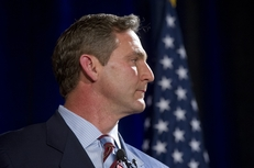 Former ESPN analyst Craig James at a U.S. Senate candidate debate in Austin on Jan. 12, 2012.