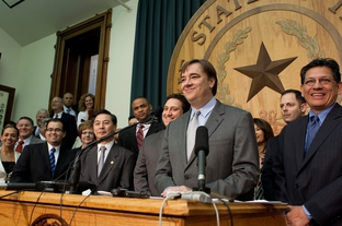State Rep. Jim Dunnam, D-Waco, at a press conference in 2009.