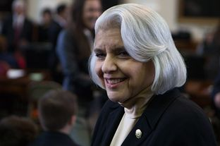 Sen. Judith Zaffirini, D-Laredo, on opening day of the 83rd legislative session, Jan. 8, 2013.