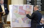 The U.S. Supreme Court heard arguments Monday in a case that could determine what Texas' legislative and congressional districts look like. Matt Largey of KUT News reports from Washington, D.C.