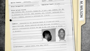 The death row file for Marvin Wilson, who was executed in 2012 for the 1992 murder of Jerry Robert Williams of Beaumont. Wilson's lawyers argued that he was mentally retarded and unfit for execution.