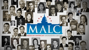 Members of the Mexican American Legislative Caucus