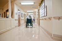 More than half of the patients at Cedar View Rehabilitation and Healthcare Center rely on Medicaid.
