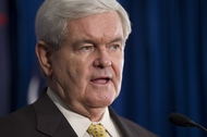Newt Gingrich at a campaign stop in West Columbia, S.C., on Jan. 17, 2012.