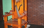 Old Sparky, the electric chair Texas used to executive inmates from 1924 to 1964.
