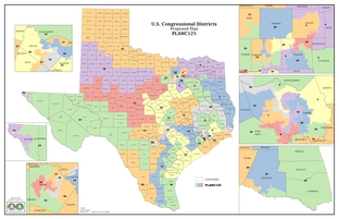 Congressional redistricting proposal from Rep. Burt Solomons and Sen. Kel Seliger.