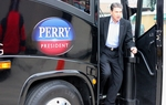 Perry Confronted on Fracking