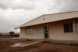 Medical clinic in Presidio, Texas.