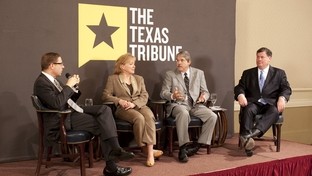TribLive with State Rep. Myra Crownover (l), State Rep. Larry Taylor (c) and Sen. Tommy Williams (r).