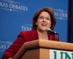 GOP Gubernatorial Debate at The University of North Texas, Debra Medina