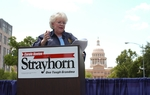 Carol Strayhorn announces for governor, June, 2005.