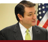 GOP U.S. Senate candidate Ted Cruz