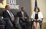 Texas Democratic legislators at TribLive event on May 19, 2011 include, left to right, State Sen. Rodney Ellis, D-Houston, State Rep. Sylvester Turner, D-Houston, and State Sen. Leticia Van de Putte, D-San Antonio.