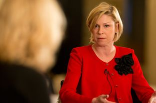 TribLive at the Austin Club with state Rep. Sarah Davis, R-West University Place, Jan 22, 2013.