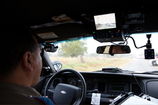 Trooper Johnny Hernandez patrols Hidalgo County in the Rio Grande Valley.