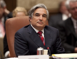 Chancellor Dr. Fransisco Cigarroa at the University of Texas Board of Regents meeting in Austin on May 11, 2011.