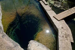 Jacob's Well, Wimberley Texas.