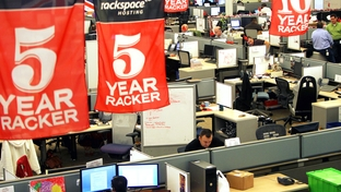 Rackspace Hosting Headquarters in San Antonio, Monday, January 7, 2012.