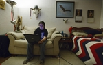 Eagle Scout and high school graduate Will Clarkston, 20, logged in to The Bridge School from his bedroom in Houston on Tuesday, October 4, 2011. He is taking online classes now and planning to attend community college in the spring.