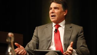 Gov. Rick Perry at the 2012 Texas Tribune Festival in on Sept. 21, 2012.