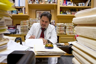 Dr. Javier Saenz has struggled to keep his South Texas clinic open in the wake of legislative cuts to physicians treating patients eligible for both Medicare and Medicaid.