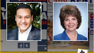Republican Jason Villalba and Democrat Carol Kent are competing to represent District 114