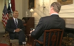 WFAA Channel 8's Brad Watson interviewed President Obama at the White House on Monday, April 18.